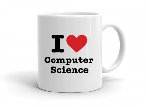 """I love Computer Science"" mug"