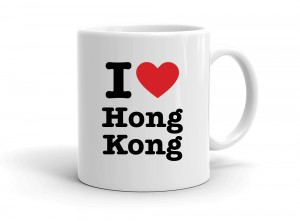 """I love Hong Kong"" mug"