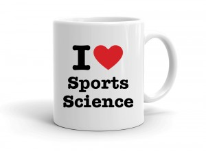 """I love Sports Science"" mug"