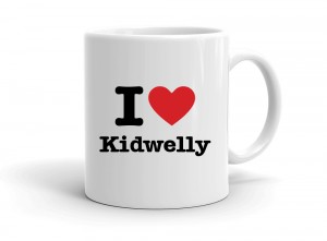 """I love Kidwelly"" mug"