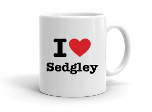 """I love Sedgley"" mug"