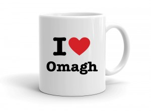 """I love Omagh"" mug"