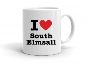 """I love South Elmsall"" mug"