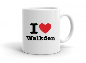 """I love Walkden"" mug"