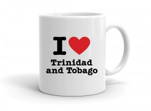 """I love Trinidad and Tobago"" mug"