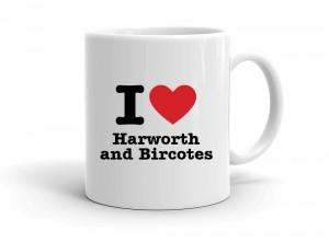 """I love Harworth and Bircotes"" mug"
