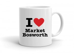 """I love Market Bosworth"" mug"
