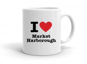 """I love Market Harborough"" mug"