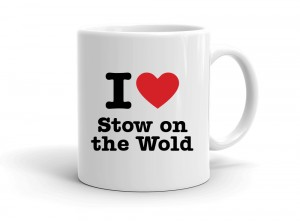 """I love Stow on the Wold"" mug"