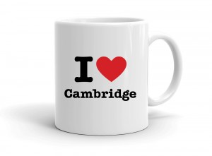 """I love Cambridge"" mug"