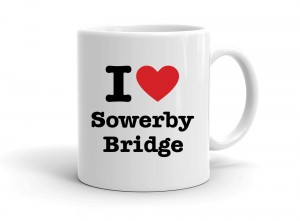 """I love Sowerby Bridge"" mug"