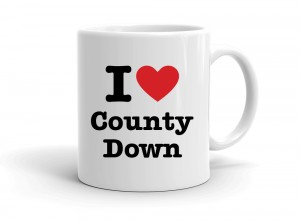 """I love County Down"" mug"