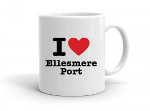 """I love Ellesmere Port"" mug"