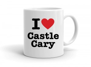 """I love Castle Cary"" mug"