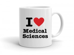 """I love Medical Sciences"" mug"