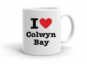 """I love Colwyn Bay"" mug"