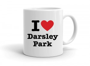 """I love Darsley Park"" mug"