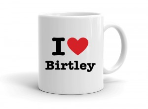 """I love Birtley"" mug"
