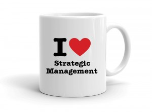 """I love Strategic Management"" mug"