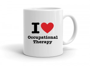 """I love Occupational Therapy"" mug"