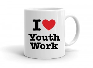 """I love Youth Work"" mug"