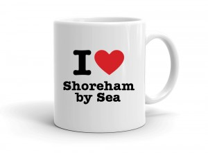 """I love Shoreham by Sea"" mug"