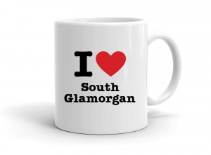 """I love South Glamorgan"" mug"