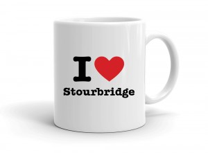 """I love Stourbridge"" mug"