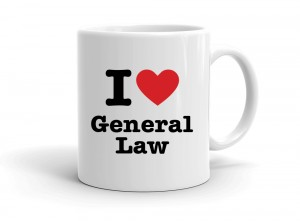 I love General Law
