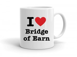 """I love Bridge of Earn"" mug"