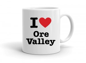 """I love Ore Valley"" mug"