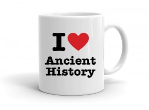 """I love Ancient History"" mug"
