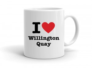 """I love Willington Quay"" mug"