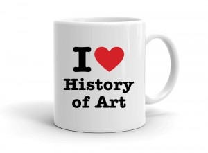 I love History of Art