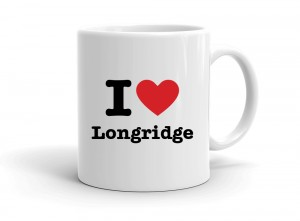 """I love Longridge"" mug"