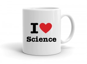"""I love Science"" mug"