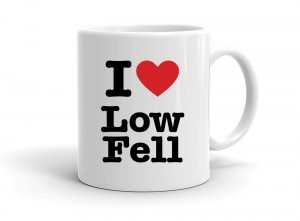 """I love Low Fell"" mug"