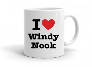 """I love Windy Nook"" mug"