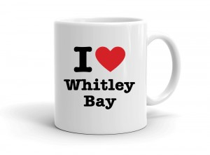"""I love Whitley Bay"" mug"