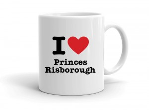 """I love Princes Risborough"" mug"