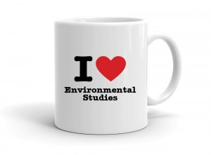 """I love Environmental Studies"" mug"
