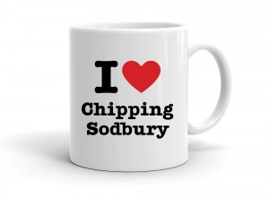 """I love Chipping Sodbury"" mug"