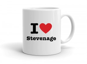 """I love Stevenage"" mug"