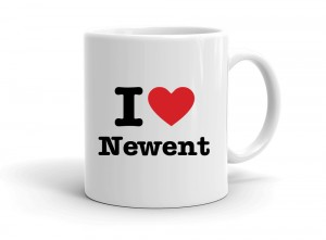 """I love Newent"" mug"