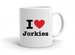 """I love Jorkies"" mug"