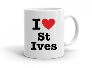"""I love St Ives"" mug"